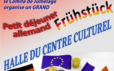 Journée franco-allemande à Cestas : petit déjeuner allemand dimanche 12/01/2020