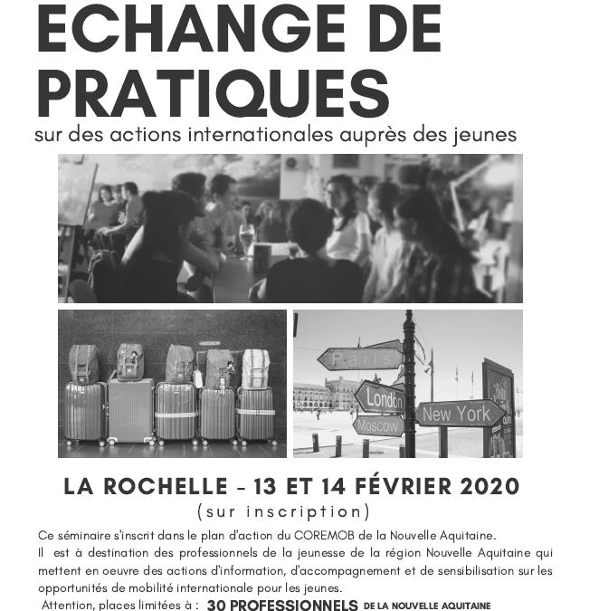 Séminaire Régional Echange de Pratiques / Actions Internationales