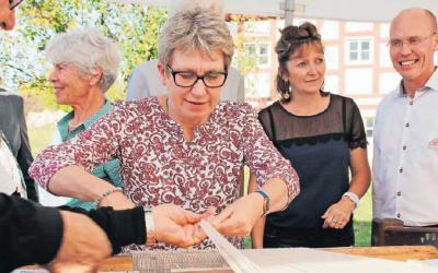 Sylvie FEJA mise à l'honneur dans la presse de Moyenne Franconie