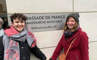 Chabanais présent à la remise du Prix Joseph Rovan à l'Ambassade de France à Berlin