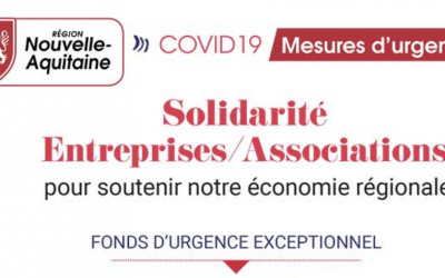 Covid-19 : la Région Nouvelle-Aquitaine aux côtés des associations