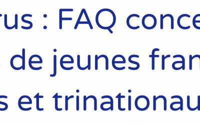 Coronavirus : FAQ concernant les échanges de jeunes franco-allemands et trinationaux