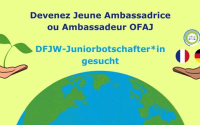 Appel à candidatures Jeunes Ambassadrices et Ambassadeurs OFAJ 2020-2021