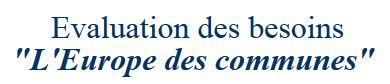 Consultation Commission européenne – L'Europe des communes