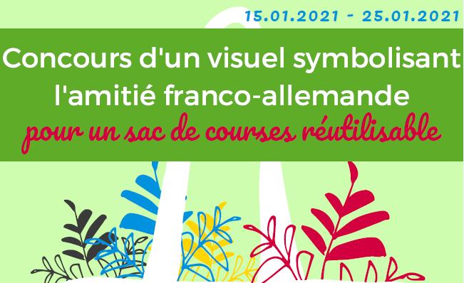 Lancement du concours d'un visuel symbolisant l'amitié franco-allemande – Journée franco-allemande 2021