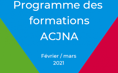 Nouveaux webinaires 2021 ACJNA : Programme février/mars