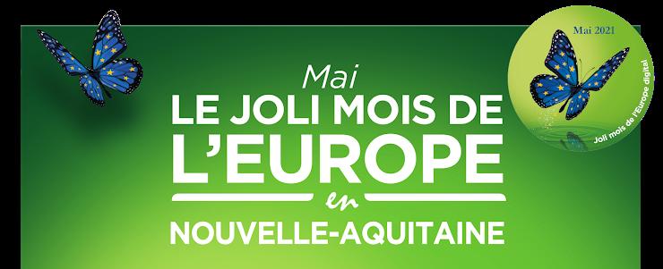 Inscription de vos actions du Joli mois de l'Europe 2021 en Nouvelle-Aquitaine