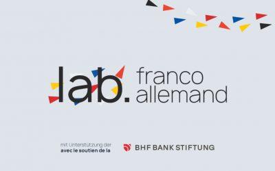Penser ensemble, c'est mieux : Bienvenue au lab.franco.allemand !