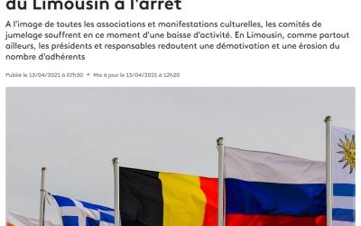 France 3 Nouvelle-Aquitaine s'intéresse aux jumelages pendant la crise