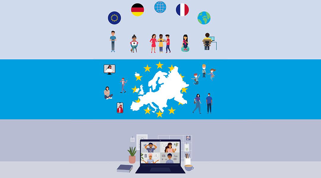 Organiser un échange franco-allemand ou trinational en 2021