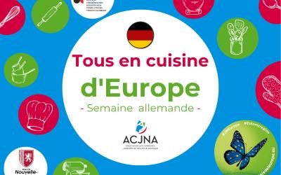Joli mois de l'Europe 2021 – Semaine allemande – Partage de la recette du cours de cuisine
