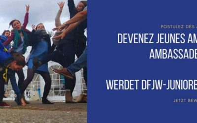 Appel à candidatures Jeunes Ambassadrices et Ambassadeurs OFAJ 2021-2022 en Nouvelle-Aquitaine